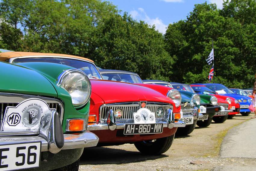 Classic Car Rally 2012