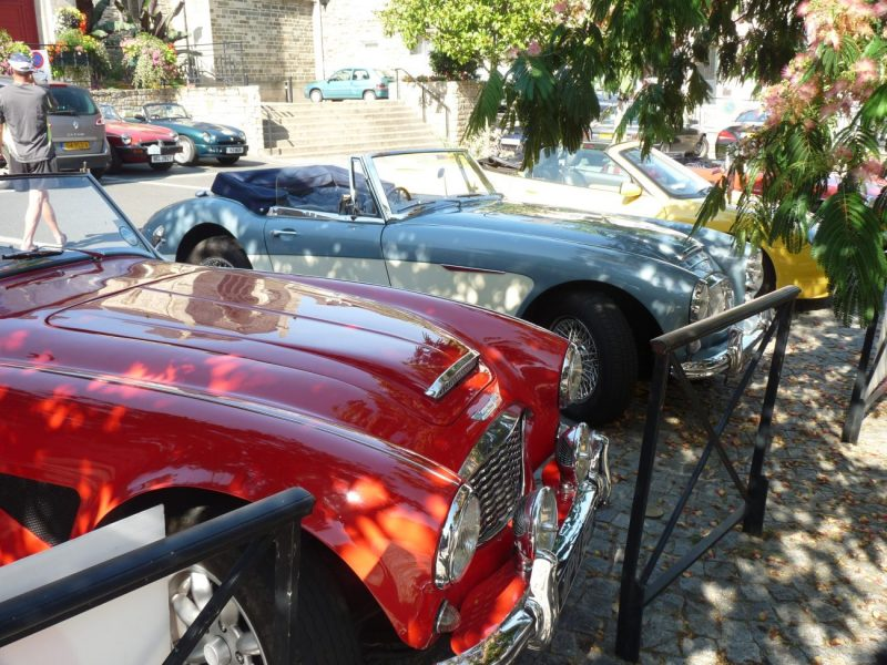 MGs and Classic cars – Fest Jazz